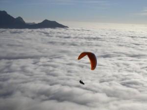 sopra le nuvole - Rodolfo Saccani