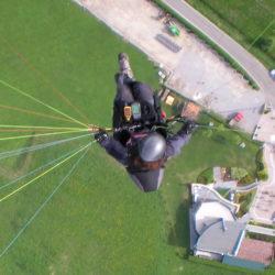 Barbara in volo sull'atterraggio - Rodolfo Saccani